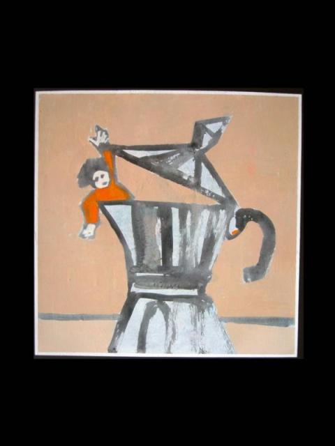 """Antony Fachin """"Nella caffettiera"""""""