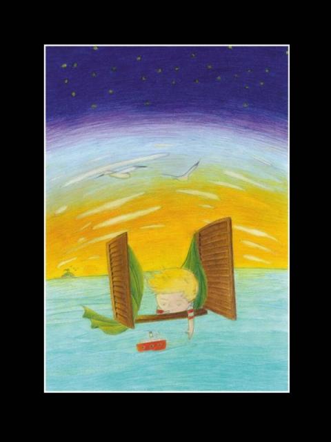 """Clario Griguzzo """"Davide e la sua nave"""""""