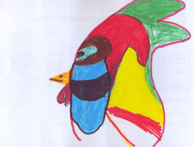 AUTHOR: Nicola Torri, 6 years old - Riccione (Italy)