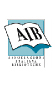 Logo AIB (Italian Libraries Association)