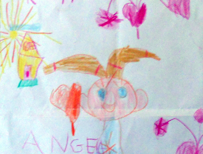 AUTHOR: Angela Lisi, 6 years old - Lecce (Italy) TITLE: My mum