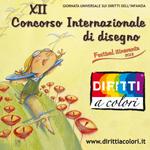 Banner 12° Edizione 2013 - Concorso Internazionale di Disegno Diritti a colori 150x150