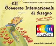 Banner 12° Edizione 2013 - Concorso Internazionale di Disegno Diritti a colori 180x150