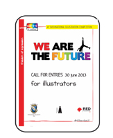 "Concours International pour Illustrateurs ""We are the future"""