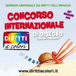 Banner 10° Edizione 2011 - Concorso Internazionale di Disegno Diritti a Colori 150x150