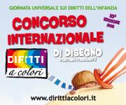 Banner 10° Edizione 2011 - Concorso Internazionale di Disegno Diritti a Colori 180x150