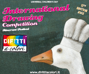 Banner 11th Edition 2012 – International Drawing Competition Colourful Rights 180x150