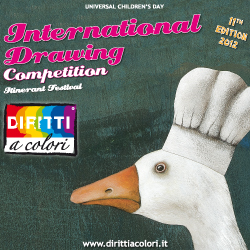 Banner 11th Edition 2012 – International Drawing Competition Colourful Rights 250x250
