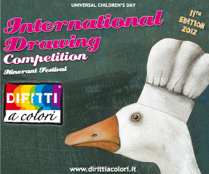 Banner 11th Edition 2012 – International Drawing Competition Colourful Rights 300x250