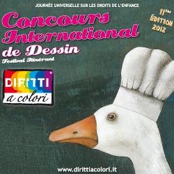 Banner 11eme Edition 2012 - Concours International de Dessin Droits aux Couleurs 250x250