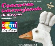 Banner 11° Edizione 2012 - Concorso Internazionale di Disegno Diritti a Colori 180x150